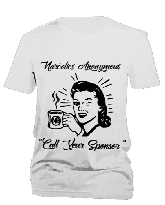 Call Your Sponsor T-shirt - Women's